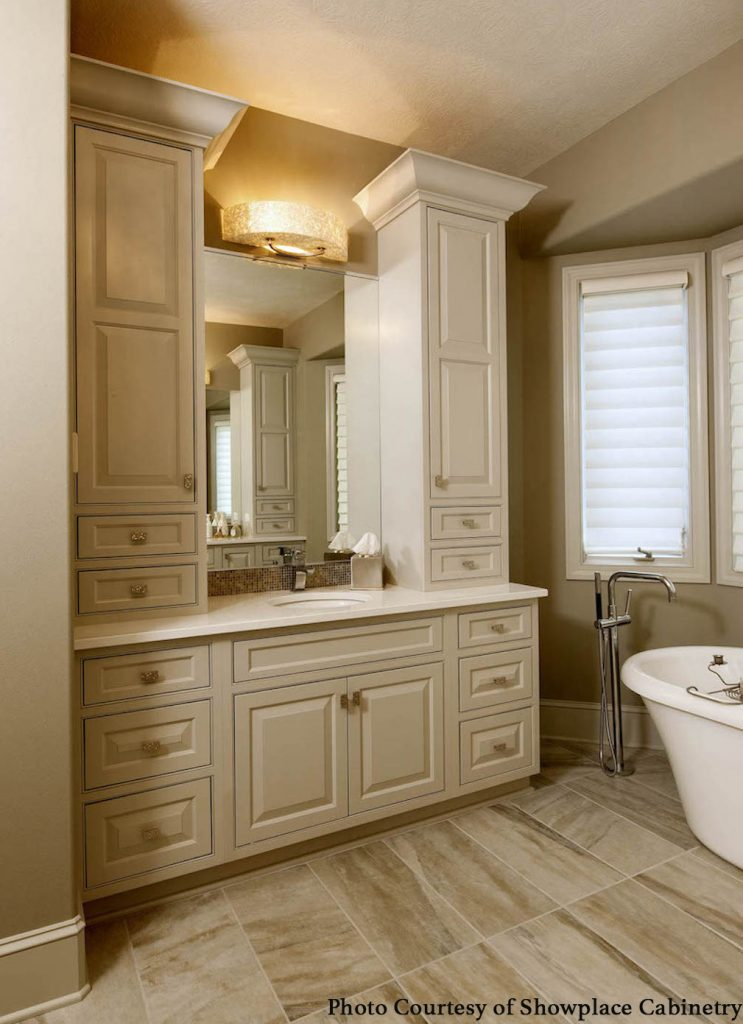 Dated Bathroom Into A Luxury